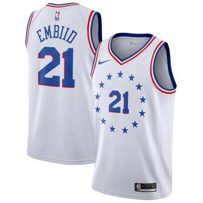 Joel Embiid 2018-19 Philadelphia 76ers Earned Edition Jersey