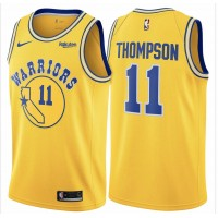 Klay Thompson 2019 Golden State Warriors Yellow Jersey