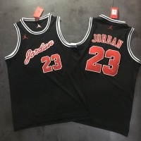 Michael Jordan Signature Series Black/Red Jersey