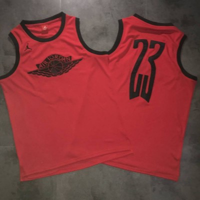 Air Jordan Wings Special Edition Red Jersey
