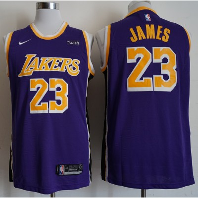 LeBron James Los Angeles Lakers Statement Purple Jersey