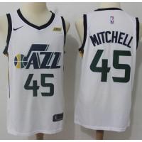 Donovan Mitchell Utah Jazz White Jersey