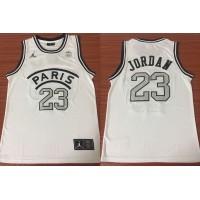 Michael Jordan PSG X Jumpman White Jersey