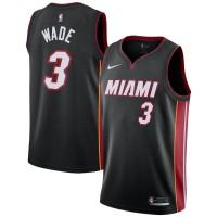 Dwyane Wade Miami Heat Black Jersey