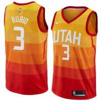 Ricky Rubio 2017-18 Utah Jazz City Edition Jersey