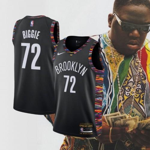 Biggie Smalls Brooklyn Nets Special Edition 2018 19 City Edition Jersey