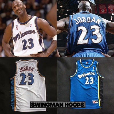 Michael Jordan Washington Wizards Jerseys