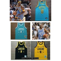 Kobe Bryant Minneapolis Lakers Throwback Jerseys