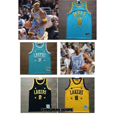 Kobe Bryant Minneapolis Lakers Throwback Jerseys