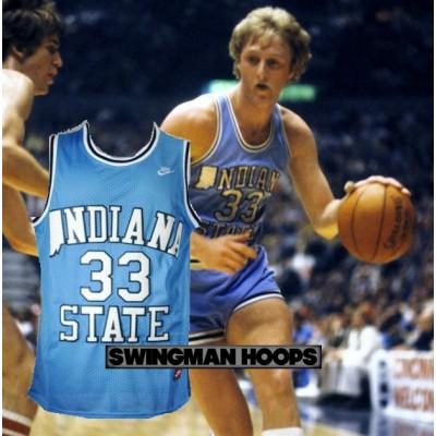 Larry Bird Indiana State NCAA Jersey