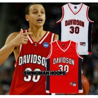 Stephen Curry Davidson NCAA Jerseys