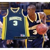 Dwayne Wade Marquette NCAA Jersey