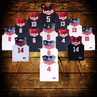 2014 USA FIBA World Cup Jerseys
