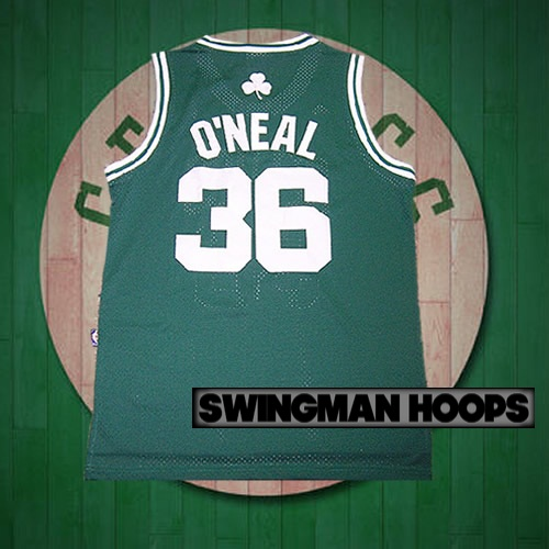 separation shoes 8bcd0 78c48 Shaquille O'Neal Boston Celtics Hardwood Classics Jerseys