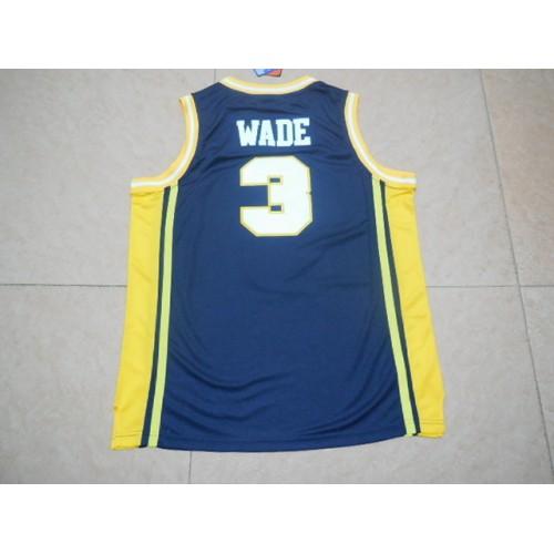 promo code c49ae 504ef Dwyane Wade Marquette NCAA Jersey
