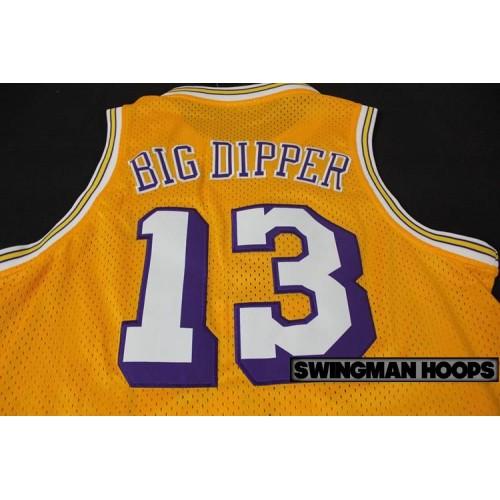 best website c3645 78d1a Wilt Chamberlain Los Angeles Lakers Hardwood Classics Jerseys