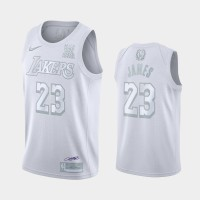 *LeBron James White MVP Special Edition Jersey