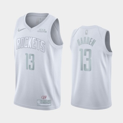 James Harden White MVP Special Edition Jersey