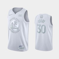 *Stephen Curry White MVP Special Edition Jersey