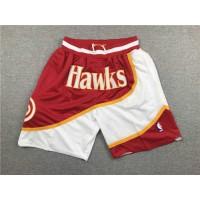 Atlanta Hawks Red JUST DON Shorts