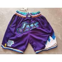Utah Jazz Purple JUST DON Shorts