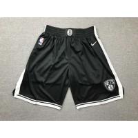 Brooklyn Nets Black Shorts