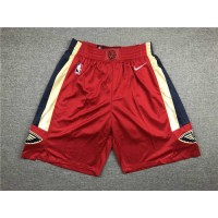 New Orleans Pelicans Red Shorts