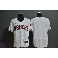 Arizona Diamondbacks White Baseball Jersey