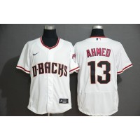 Nick Ahmed Arizona Diamondbacks White Baseball Jersey