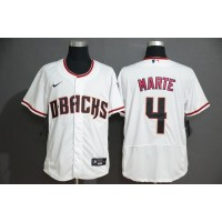 Ketel Marte Arizona Diamondbacks White Baseball Jersey