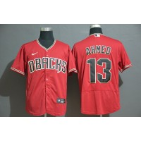 Nick Ahmed Arizona Diamondbacks Red Baseball Jersey