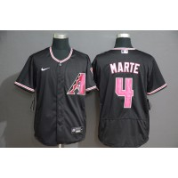 Ketel Marte Arizona Diamondbacks Black Baseball Jersey