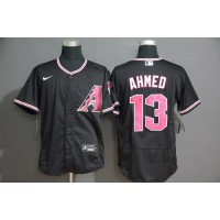 Nick Ahmed Arizona Diamondbacks Black Baseball Jersey