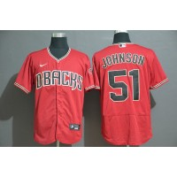 Randy Johnson Arizona Diamondbacks Red Baseball Jersey