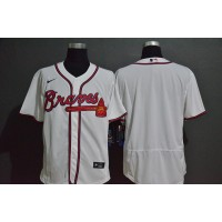 Atlanta Braves White Baseball Jersey