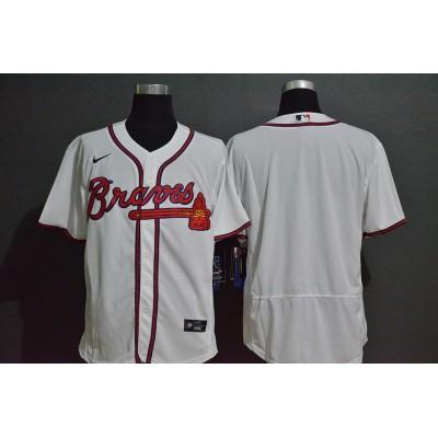 Atlanta Braves White Baseball Jersey