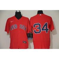 David Ortiz Boston Red Sox Red Baseball Jersey (no name)
