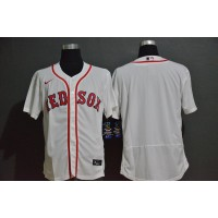 Boston Red Sox White Baseball Jersey