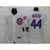 Anthony Rizzo Chicago Cubs White Baseball Jersey