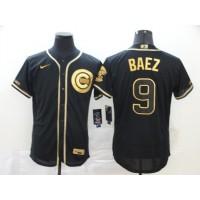 Javier Báez Black & Gold Chicago Cubs Baseball Jersey
