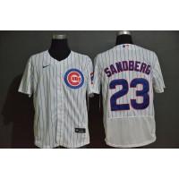 Ryne Sandberg Chicago Cubs White Baseball Jersey