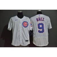 Javier Báez Chicago Cubs White Baseball Jersey