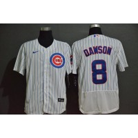 Andre Dawson Chicago Cubs White Baseball Jersey