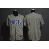 Chicago Cubs Grey Baseball Jersey