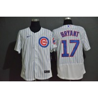Kris Bryant Chicago Cubs White Baseball Jersey
