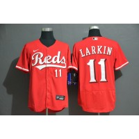 Barry Larkin Cincinnati Reds Red Baseball Jersey