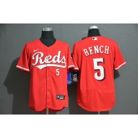 Johnny Bench Cincinnati Reds Red Baseball Jersey