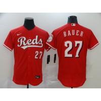 Trevor Bauer Cincinnati Reds Red Baseball Jersey