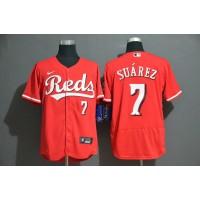 Eugenio Suarez Cincinnati Reds Red Baseball Jersey