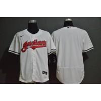 Cleveland Indians White Baseball Jersey